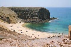 Playa de Papagayo Royalty Free Stock Images