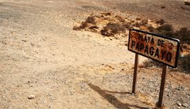 Playa de Papagayo, Lanzarote Imagenes de archivo