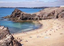 Playa De Papagayo Stock Photos