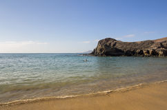 Playa de Papagayo Stock Photo