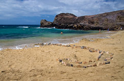 Playa DE Papagayo stock afbeelding
