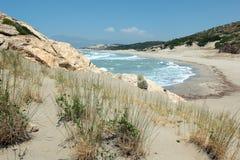 Playa de Patara Foto de archivo libre de regalías