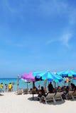 Playa de Patong en Phuket Tailandia Imagenes de archivo