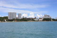 Playa de Pattaya Foto de archivo
