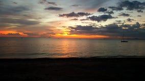 Playa de Pattaya en Pattaya, Tailandia Fotos de archivo