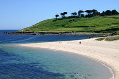 Playa de Pelistry, St. Maria. Fotos de archivo