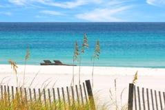 Playa de Pensacola, la Florida Imagenes de archivo
