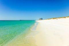 Playa de Pensacola, la Florida foto de archivo