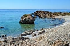 Playa de Perivolaki Imagenes de archivo