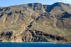 Playa de Perivolaki Fotografía de archivo