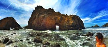 Playa de Pfeiffer Foto de archivo