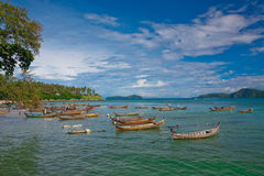 Playa de Phuket Fotos de archivo libres de regalías