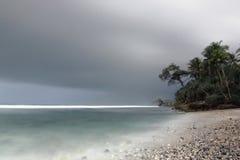 Playa de Pidakan imagenes de archivo