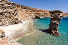 Playa de Pidima del Grias Fotografía de archivo