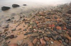 Playa de piedra Fotografía de archivo