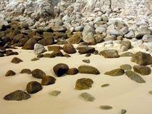 Playa de piedra fotos de archivo libres de regalías