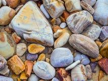 Playa de piedra Imagenes de archivo