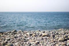 Playa de piedra Imágenes de archivo libres de regalías