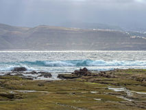 Playa de piedras fotografía de archivo libre de regalías