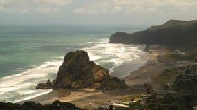 Playa de Piha Fotos de archivo libres de regalías