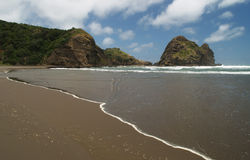Playa de Piha fotografía de archivo libre de regalías