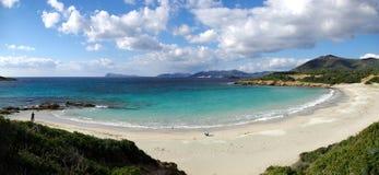 Playa de Piscinni Foto de archivo libre de regalías