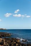 Playa de Playa Papagayo, Blanca de Playa, Lanzarote, España Fotos de archivo