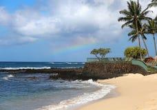 Playa de Poipu, Kauai, Hawaii, los E.E.U.U. Imagen de archivo libre de regalías