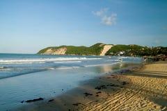 Playa de Ponta Negra Foto de archivo