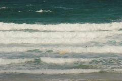 Playa de Portand y de Chesil Fotos de archivo