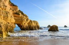 Playa de Portimao Fotografía de archivo libre de regalías