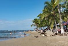 Playa de Puerto Viejo de Talamanca, Costa Rica Fotografía de archivo