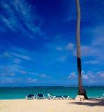 Playa de Punta Cana Foto de archivo libre de regalías