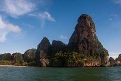 Playa de Railay en Krabi Tailandia Imagen de archivo libre de regalías