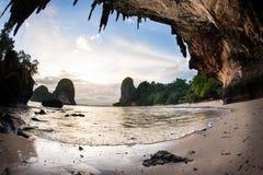 Playa de Raliegh fotos de archivo libres de regalías