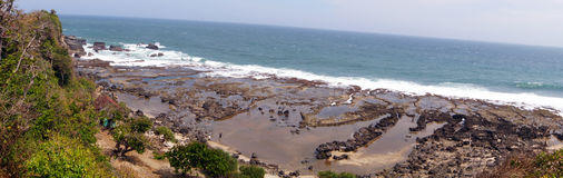 Playa de Rancabuaya Fotos de archivo libres de regalías