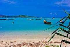 Playa de Rawai Fotos de archivo libres de regalías