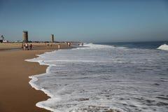 Playa de Rehoboth, parque de estado de la charca de Delaware Gordons fotografía de archivo