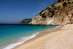 Playa de relajación de Kaputas Fotos de archivo