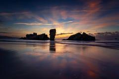 Playa de Requexinos стоковые фотографии rf