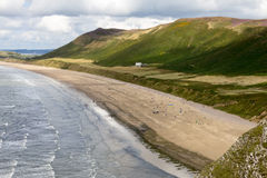 Playa de Rhossili, Gower, Swansea Fotos de archivo