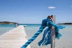 Playa de Rondinara Imagenes de archivo