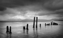 Playa de Rossbeigh foto de archivo