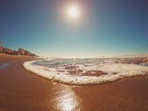 Playa de San Bernardo Fotos de archivo libres de regalías