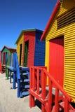 Playa de San Jaime Ciudad del Cabo Foto de archivo