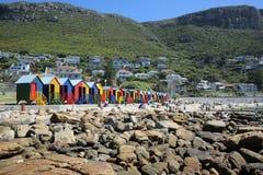 Playa de San Jaime Ciudad del Cabo Fotografía de archivo libre de regalías
