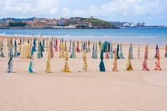 Playa de San Lorenzo Imagenes de archivo
