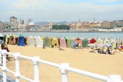 Playa de San Lorenzo Imágenes de archivo libres de regalías