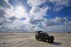 Playa de San Pedro Ording, Alemania Fotos de archivo libres de regalías