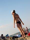 Playa de Sandy Fotografía de archivo